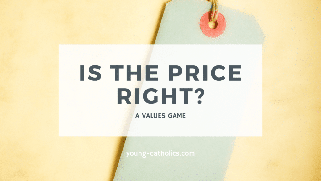 Value games like Is the Price Right help youth understand that not everything is defined by a price tag.