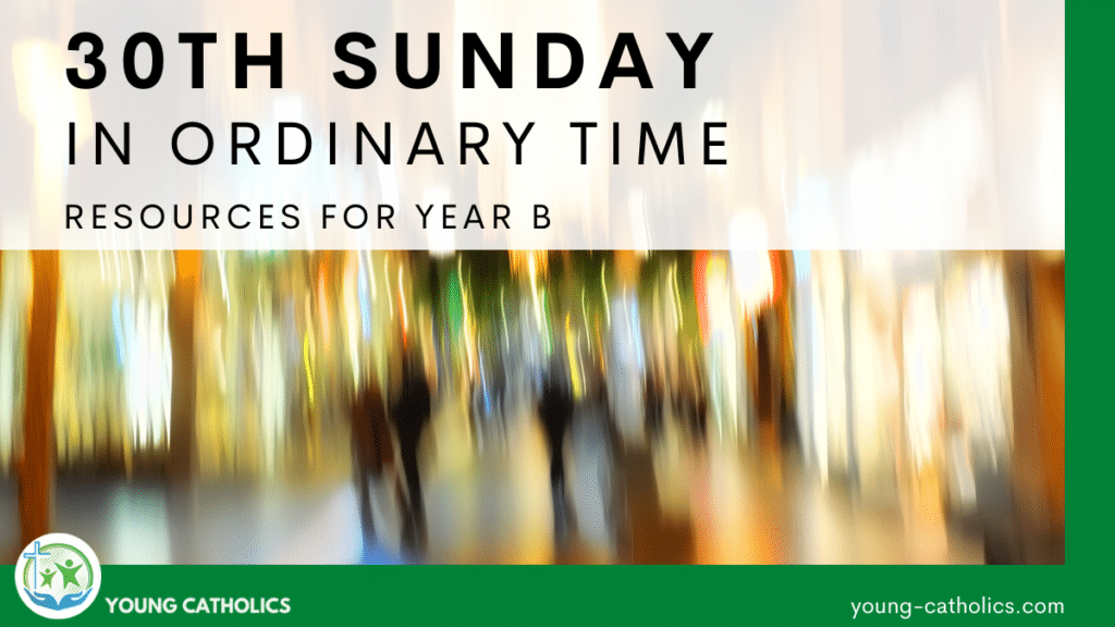 An image of a blurred city since blindness is one of the themes for the 30th Sunday in Ordinary time Year B